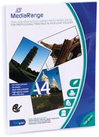 Vorschau: Fotopapier MEDIARANGE, DIN A4, 160 g/m², hochglanz