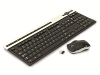 Vorschau: Kabelloses Tastatur/Maus-Set RED4POWER R4-T009B
