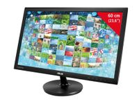 "Vorschau: 59,94 cm (23,6"") LED-TFT-Bildschirm ASUS VS247HR, EEK: A, HDMI, DVI, VGA"
