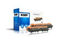 Vorschau: Toner KMP B-T48D, kompatibel für TN241BK, schwarz, 2 Stück