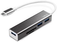 Vorschau: USB-C Hub LOGILINK UA0305, Kartenleser