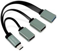 Vorschau: USB-C Hub LOGLINK UA0315, 3-Port, Adapterkabel