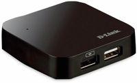 Vorschau: USB-Hub D-LINK DUB-H4, 4-port, USB 3.0