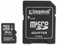 Vorschau: MicroSDHC Card KINGSTON SDC4, 16 GB