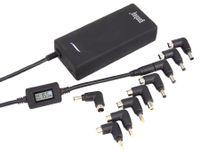 Vorschau: Laptop-Netzteil mit Display und USB-Port, 90 W
