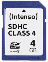 SDHC Card INTENSO, 4...