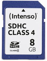 Vorschau: SDHC Card INTENSO, 8 GB, Class 4