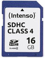 Vorschau: SDHC Card INTENSO, 16 GB, Class 4