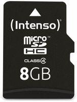 Vorschau: MicroSDHC Card, 8 GB, INTENSO