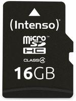 Vorschau: MicroSDHC Card INTENSO, 16 GB