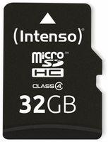 Vorschau: MicroSDHC Card, 32 GB, CLASS 4, INTENSO