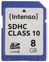 Vorschau: SDHC Card INTENSO 3411460, 8 GB, Class 10