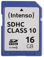Vorschau: SDHC Card INTENSO 3411470, 16 GB, Class 10