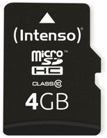 Vorschau: MicroSDHC Card INTENSO 3413450, 4 GB