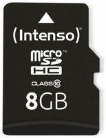 Vorschau: MicroSDHC Card INTENSO 3413460, 8 GB