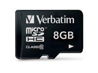 Vorschau: MicroSDHC Card VERBATIM 44012, 8 GB