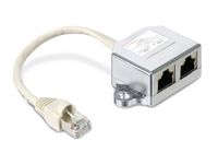 Vorschau: Cable-Sharing-Adapter RED4POWER R4-N100-EE, Ethernet/Ethernet
