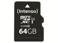 Vorschau: microSDXC Card INTENSO 3433490, 64 GB