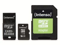 Vorschau: microSDHC Card INTENSO 3413760, 16 GB