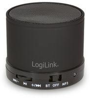 Vorschau: Bluetooth Lausprecher mit MP3 Player schwarz LogiLink