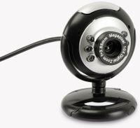 Vorschau: Webcam W-003, silber-schwarz