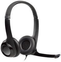 Vorschau: Headset LOGITECH H390, USB, Stereo, schwarz