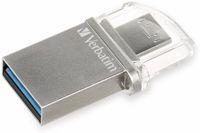 Vorschau: USB 3.0 OTG Stick VERBATIM Typ-A Micro, Dual Drive, 16 GB