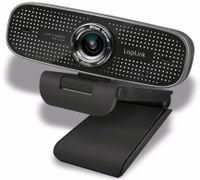 Vorschau: Webcam LOGILINK LL1, 1920x1080, 30fps, schwarz
