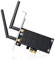 Vorschau: PCIe-Netzwerkkarte TP-LINK Archer T6E, 2,4/5 GHz, 1300 MBit/s