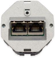 Vorschau: Einsatz für Datendose KOMOS 500, 8/8 (8), CAT.6a, 2x RJ-45