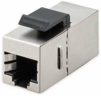 Vorschau: Einbau-Modul GOOBAY 96100, CAT.6, STP, Slim Ausführung, silber