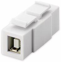Vorschau: Einbau-Modul GOOBAY 79925, 2x USB 2.0-Buchse (Typ B)