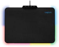 Vorschau: Mauspad LOGINK ID1055, RGB-LED, schwarz