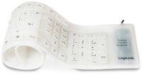 Vorschau: Tastatur LOGILINK ID0018A, flexibel, weiß