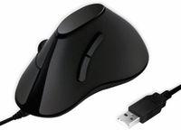 Vorschau: Ergonomic-Maus LOGLINK ID0158, USB, vertical, schwarz