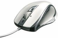 Vorschau: USB-Maus Torino, 6 Tasten, weiß