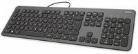 Vorschau: USB-Tastatur HAMA KC-700, Slim-Design, Scissor-Tasten, anthrazit/schwarz