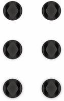 Vorschau: Kabel Management GOOBAY 2 Slots Mini, 6er-Set, schwarz