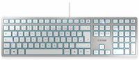 Vorschau: Tastatur CHERRY KC 6000 Slim, silber
