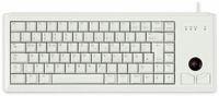 Vorschau: PS/2-Tastatur CHERRY G84-4400, mit Trackball, grau