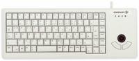 Vorschau: USB-Tastatur CHERRY G84-5400 XS, mit Trackball, grau