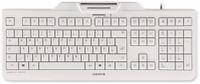 Vorschau: USB-Tastatur CHERRY KC 1000 SC, weiß