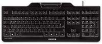 Vorschau: USB-Tastatur CHERRY KC 1000 SC, schwarz