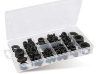Vorschau: Sortiment Gummi-Durchgangstüllen, 180-teilig