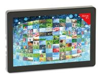 """Vorschau: ODROID-VU Multitouch TFT-Display mit HDMI, 1280x800, 9"""" (22,8 cm)"""
