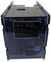 "Vorschau: ODROID-XU4 CloudShell 2 Case 2 mit 2,8"" TFT Display, transparent blau"