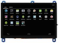"""Vorschau: 12,7 cm (5"""") Multitouch TFT-Display mit HDMI und Audio ODROID-VU5A"""