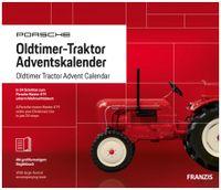 Vorschau: FRANZIS Porsche Oldtimer-Traktor Adventskalender 2019