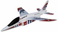 Vorschau: Wurfgleiter Alpha Jet PICHLER 470mm rot/blau
