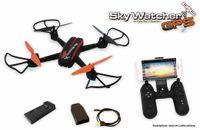 Vorschau: Quadrocopter SkyWatcher GPS, RTF & FPV, Follow me Funktion